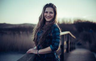 lächelndes Porträt von Milena Andree (PhotoGravity)